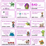 Brain Teasers, Riddles & Puzzles Card Game (Set 1) Worksheet   Free   Printable Riddle Puzzles