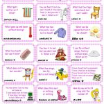 Brain Teasers, Riddles & Puzzles Card Game (Set 2) Worksheet   Free   Printable Riddle Puzzles