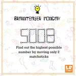 Brainteaser   The Matchstick Puzzle   Logicroots   Printable Matchstick Puzzles