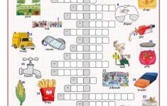 British/american English Crossword Puzzle Worksheet   Free Esl   Worksheet English Puzzle