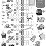 British Vs American English   Crossword Worksheet   Free Esl   Printable Crosswords English Vocabulary