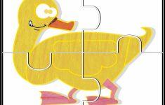Brown Bear #1 5 Puzzles   Prekautism   Jigsaw Puzzles, Puzzle   Printable Animal Puzzles