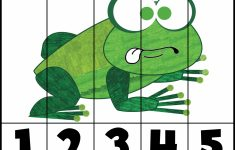 Brown Bear Puzzles   Prekautism   Printable Frog Puzzle
