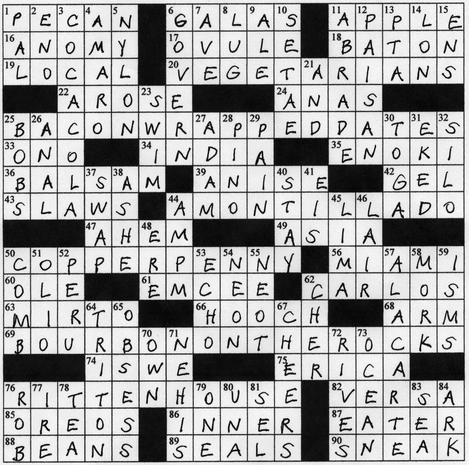 "Buzzings"" From Cocktail Buzz: Buzzwords 2 - Printable Buzzword Puzzles"