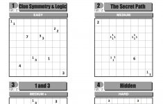 Can You Solve It? Tapa, The Puzzle Of Champions | Science | The Guardian   Printable Japanese Puzzles