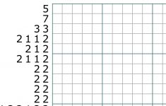 Can You Solve This #nonogram #logic #puzzle #brainteaser ? What Is   Printable Hanjie Puzzle