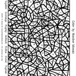Car Colornumber Mosaic : Printables For Kids – Free Word Search   Printable Puzzle Coloring Pages