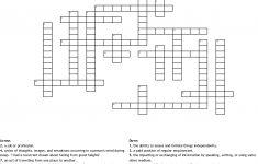 Career Crossword   Wordmint   Printable Crossword Puzzles Job