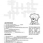 Ccbc Kids Corner: Scripture Search Crossword #2   Printable Crossword #4