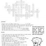 Ccbc Kids Corner: Scripture Search Crossword #3 Genesis 8   Printable Crossword #3