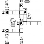 Chess Crossword Puzzle | Free Printable Puzzle Games   Printable Chess Puzzles