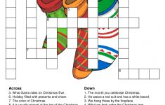 Christmas Crossword Puzzle | Holiday Ideas   All Holidays And All   Christmas Crossword Puzzle Printable