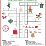 Christmas Crossword Puzzle Printable   Thrifty Momma's Tips | Free   Printable Crosswords For 5 Year Olds