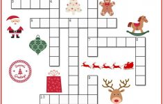 Christmas Crossword Puzzle Printable   Thrifty Momma's Tips | Free   Printable Crosswords For 6 Year Olds