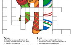Christmas Crossword Puzzles   Best Coloring Pages For Kids   Holiday Crossword Puzzles Printable