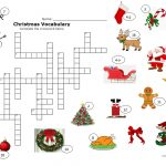 Christmas Crossword Worksheet   Free Esl Printable Worksheets Made   Free Printable Xmas Crossword