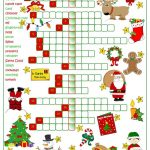 Christmas Fun   Crossword Worksheet   Free Esl Printable Worksheets   Free Printable Xmas Crossword