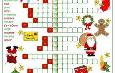Christmas Fun   Crossword Worksheet   Free Esl Printable Worksheets   Free Printable Xmas Crossword