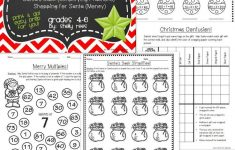 Christmas Math Worksheets   Math Activities And Lessons   Christmas   Printable Puzzle Packets