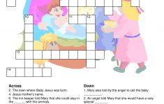 Christmas Nativity Crossword | Christmas Nativity | Christmas   Printable Nativity Puzzle