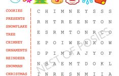 Christmas Word Puzzle Printables For Kids   Nest Of Posies   Printable Puzzle Christmas