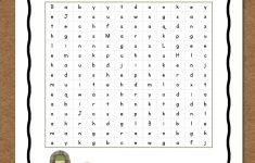 Christmas Word Search: Free Printable   Mamas Learning Corner   Printable Bible Puzzles For Preschoolers