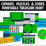 Ciphers, Puzzles, And Codes Treasure Hunt   Best Part Is That It Is   Printable Escape Room Puzzles