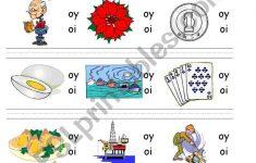 Circle Sound Puzzle 15: Phonics The /oy/ Sound   Esl Worksheet   Printable Phonics Puzzles