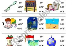 Circle Sound Puzzle 9: Phonics The /or/ Sound   Esl Worksheet   Printable Phonics Puzzles