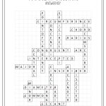 Circles Vocabulary Crossword   My Tpt Items   Geometry Worksheets   Printable English Crossword Puzzles With Answers Pdf
