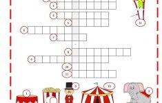 Circus Crossword | Work Sheets | Big Top Circus, Crossword, Worksheets   Circus Crossword Puzzle Printables