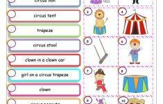 Circus Worksheet   Free Esl Printable Worksheets Madeteachers   Circus Crossword Puzzle Printables