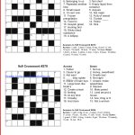Coloring ~ Coloring Easy Printable Crossword Puzzles Large Print   Free Printable Universal Crossword Puzzles