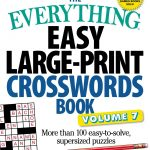 Coloring ~ Large Print Crosswords Coloring Dailythomas Joseph   Printable Crosswords By Thomas Joseph