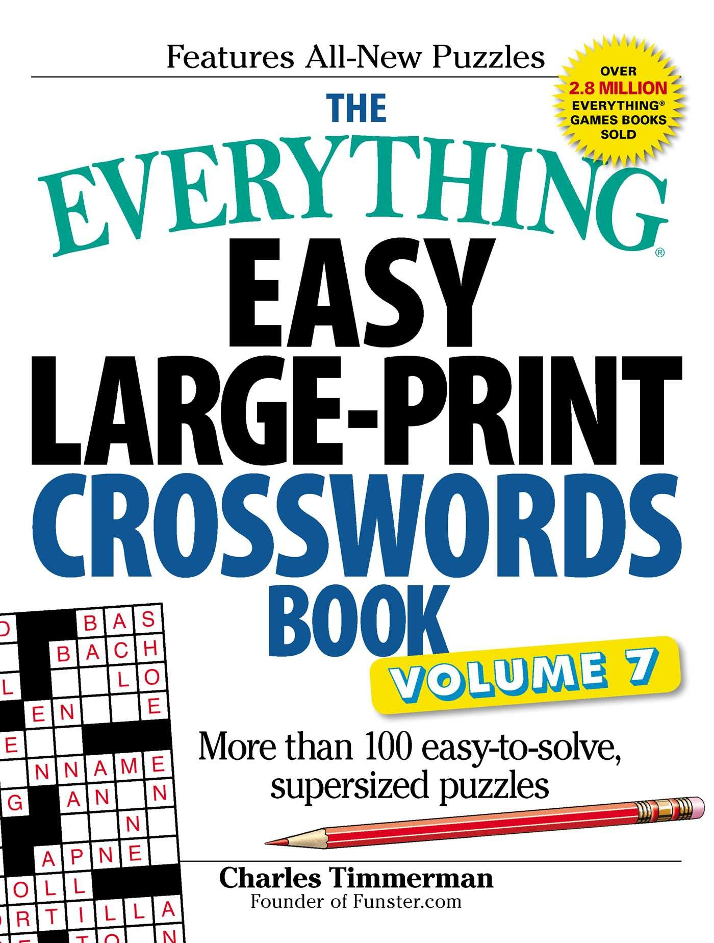Coloring ~ Large Print Crosswords Coloring Dailythomas Joseph - Printable Crosswords By Thomas Joseph