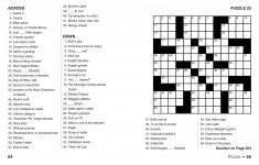 Coloring ~ Large Print Crosswords Coloring Dailythomas Joseph   Thomas Joseph Crossword Printable Version