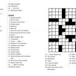Coloring ~ Marvelous Large Print Crosswords Photo Ideas Jumbo   Printable Jumbo Crossword Puzzles