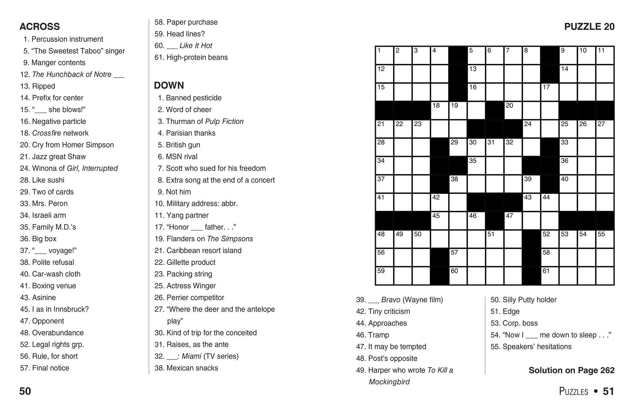 Coloring ~ Marvelous Large Print Crosswords Photo Ideas Jumbo - Printable Jumbo Crossword Puzzles