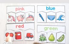 Colour Puzzles For Toddlers And Preschoolers | Toddler And   Printable Puzzles For 3 Year Olds