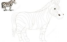 Connect The Dots To Draw A Zebra | Free Printable Puzzle Games   Printable Zebra Puzzle