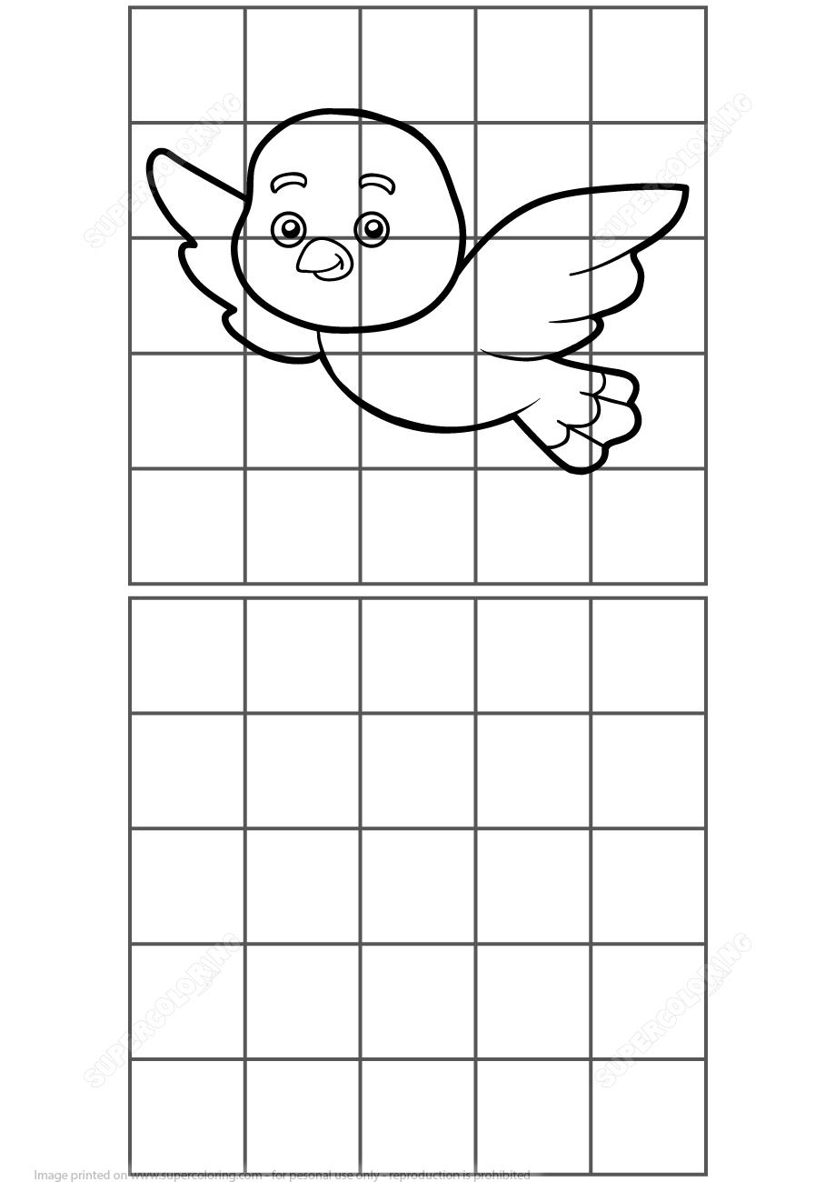 Copy The Bird Puzzle | Free Printable Puzzle Games - Printable Bird Puzzles