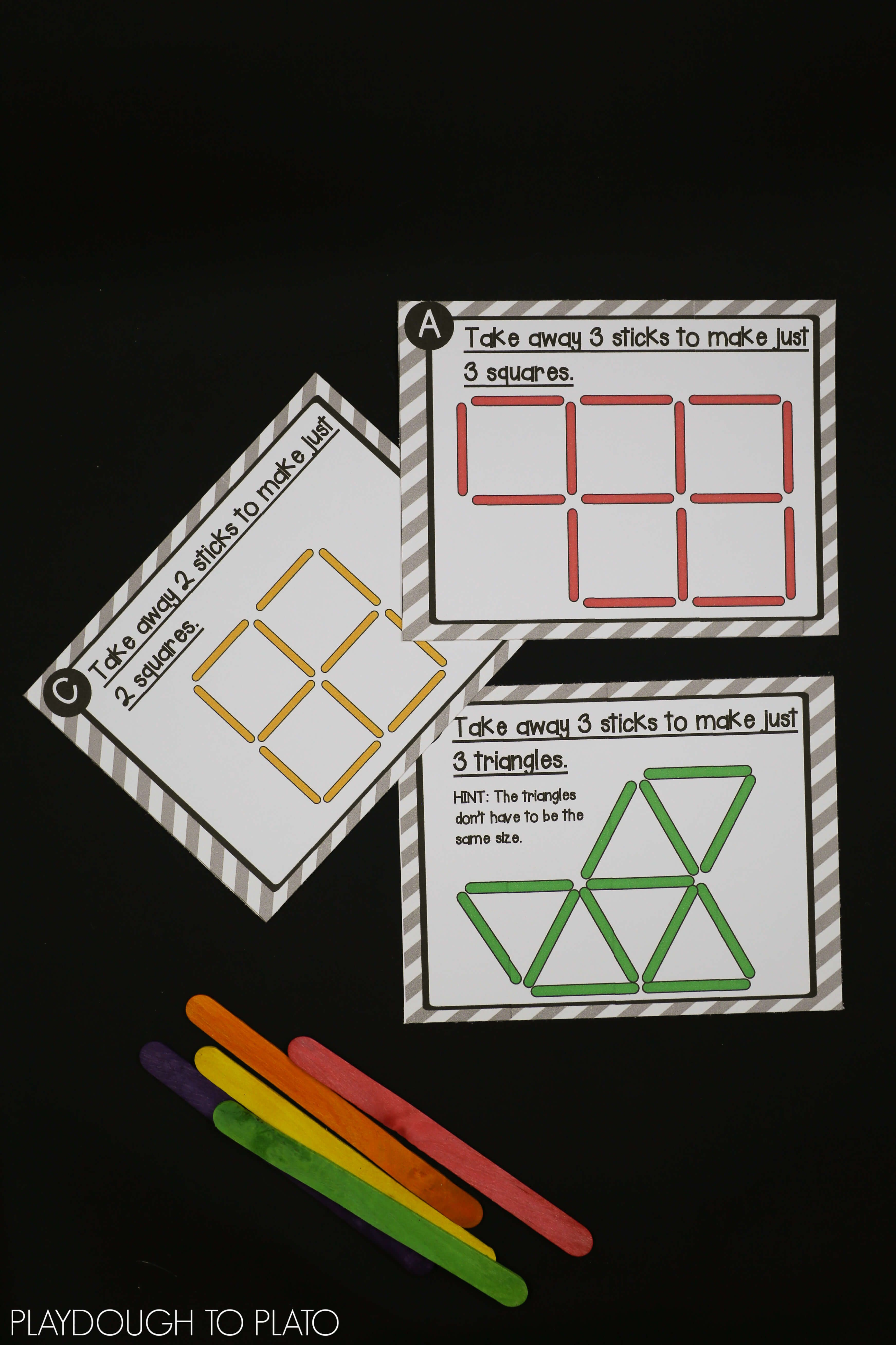 Craft Stick Puzzles | Makerspace | Craft Stick Crafts, Stem - Printable Matchstick Puzzles