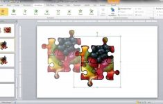 Create A Jigsaw Puzzle Image In Powerpoint – Youtube – Printable Jigsaw Puzzles Maker