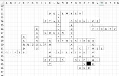 Create An Alzheimer's Friendly Crossword Puzzle | Adventures Of A   1950S Crossword Puzzle Printable