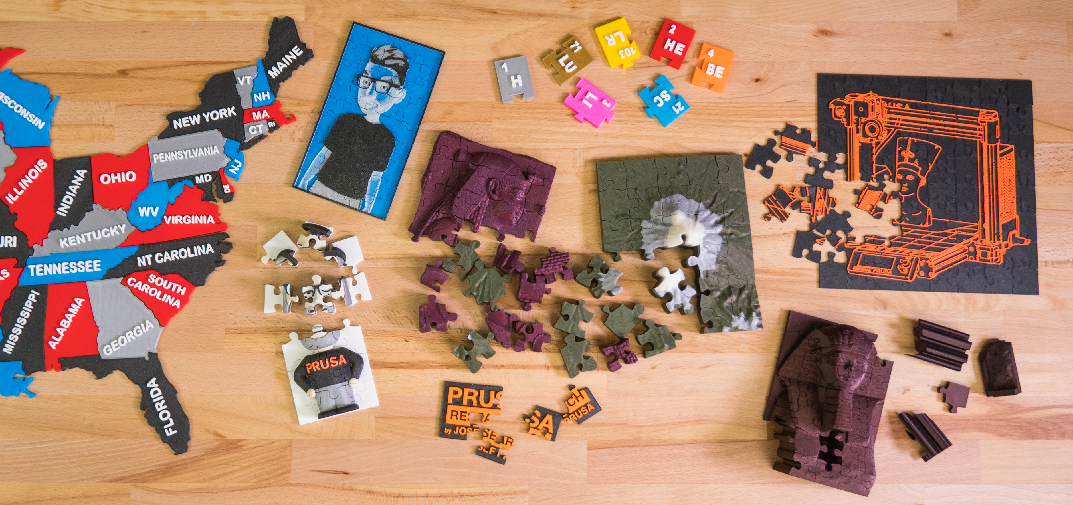 Create And Print Your Own 3D Jigsaw Puzzles! - Prusa Printers - Print On Puzzle