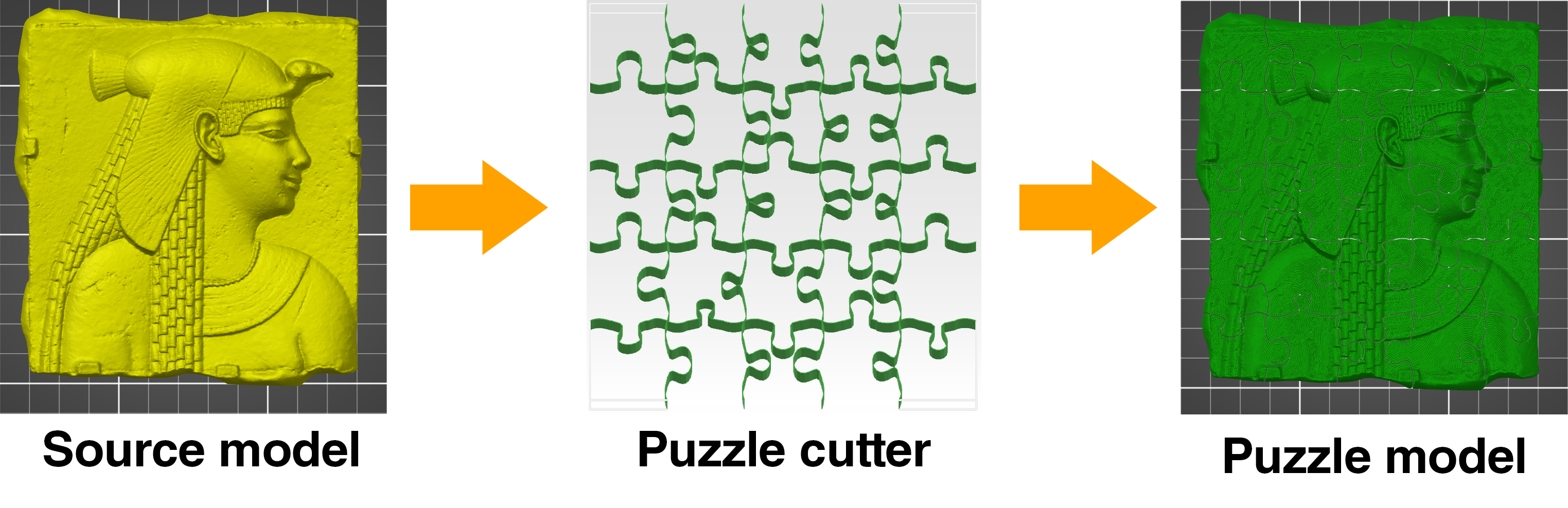 Create And Print Your Own 3D Jigsaw Puzzles! - Prusa Printers - Print Your Puzzle