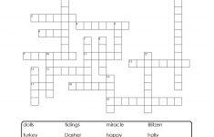 Crosspatch Xmas Printable Puzzle. Support Vocab Development And   Printable Vocabulary Quiz Crossword Puzzle