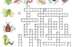 Crossword   Insects And Reptiles Worksheet   Free Esl Printable   Insect Crossword Puzzle Printable