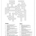 Crossword   Let Me Introduce Myself | Crosswords | Crossword   Printable Crossword Puzzles Spanish