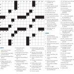 Crossword Puzzle – Crossword Puzzle – Hamilton College Pertaining To   College Crossword Puzzle Printable